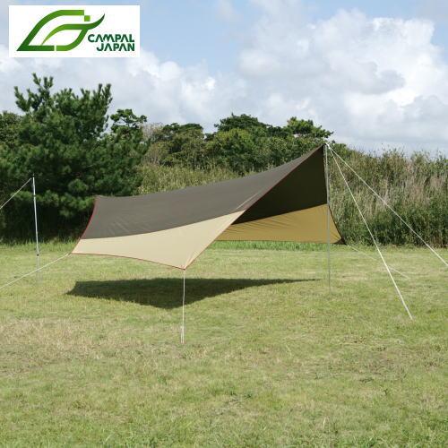 Campal Japan キャンパル ジャパン テント システムタープヘキサDX 3331
