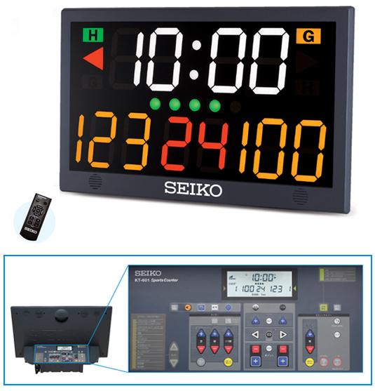 SEIKO セイコー 屋内競技の時間・得点表示用カウンタースポーツカウンター KT-601
