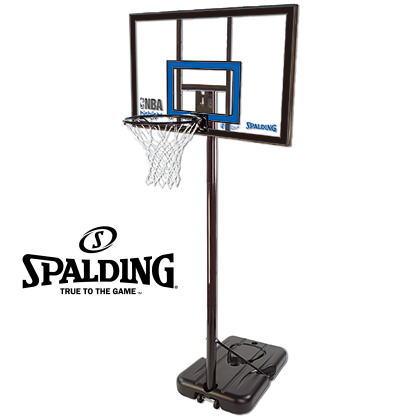 スポルディング 家庭用バスケットボールゴール ハイライトアクリルポータブル 77455CN