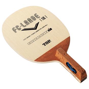 TSP ヤマト卓球ラケット FC ラージ SR[角丸型] 21672 ラージボール用ペンホルダー