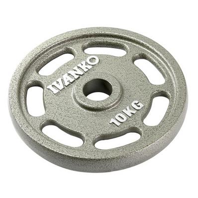 IVANKO イヴァンコ φ50mmオリンピックペイントイージーグリッププレート OMEZ-10kg