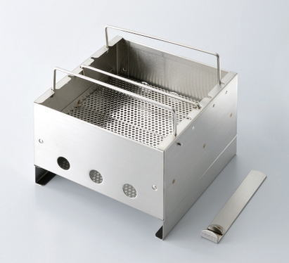 ダンロップ DUNLOP 組立式焚き火台 ステンレスタイプストーブ BHH102