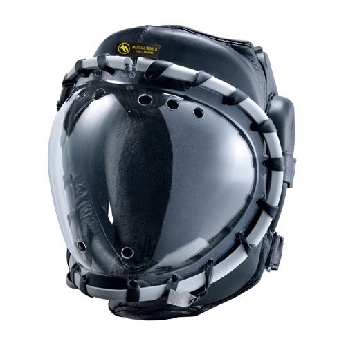 マーシャルワールド K-プロテクターヘッドガード Sサイズ 黒 HGKP3-S-BK