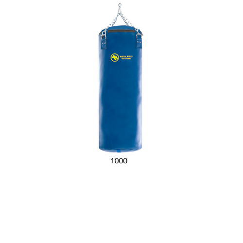 Martial world leather training TB-M1000 with leather punching heavy bag < stock >