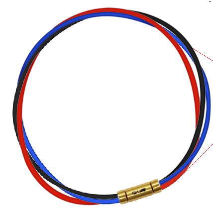 セブ SEV スポーツネックレス ルーパータイプ3G ブラック/ブルー/レッド