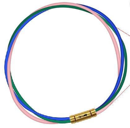 セブ SEV スポーツネックレス ルーパータイプ3G ブルー/グリーン/ピンク