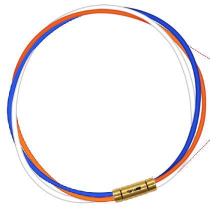 SEV ブルー/オレンジ/ホワイト セブ ルーパータイプ3G スポーツネックレス