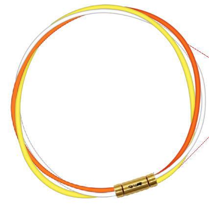 セブ SEV スポーツネックレス ルーパータイプ3G オレンジ/ホワイト/イエロー
