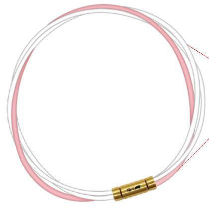 ルーパータイプ3G スポーツネックレス セブ ホワイト2本/ピンク SEV