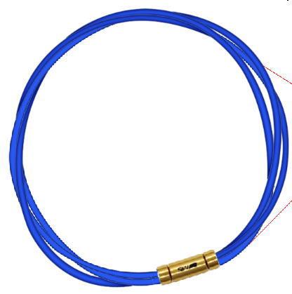 セブ SEV スポーツネックレス ルーパータイプ3G 54cm ブルー