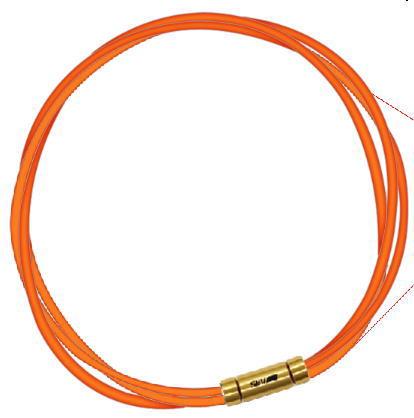セブ SEV スポーツネックレス ルーパータイプ3G 54cm オレンジ