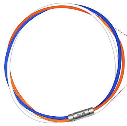 セブ SEV スポーツネックレス ルーパータイプ3M 納期2週間 ブルー/オレンジ/ホワイト