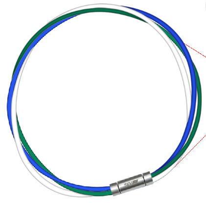 セブ SEV スポーツネックレス ルーパータイプ3M 納期2週間 54cm ブルー/グリーン/ホワイト