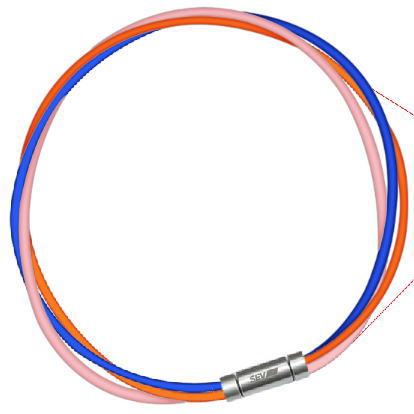 54cm SEV スポーツネックレス セブ ルーパータイプ3M 納期2週間 ブルー/オレンジ/ピンク