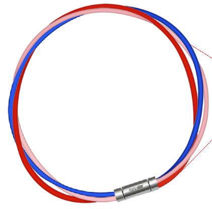 セブ SEV スポーツネックレス ルーパータイプ3M 納期2週間 54cm ブルー/ピンク/レッド
