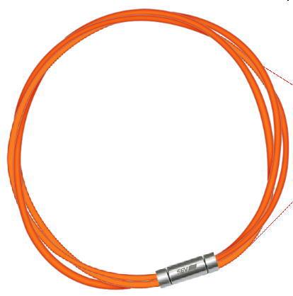 セブ SEV スポーツネックレス ルーパータイプ3M 納期2週間 54cm オレンジ