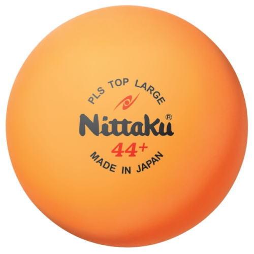 Nittaku ニッタク 卓球ボール プラトップラージボール 44mm 10ダース NB-1074
