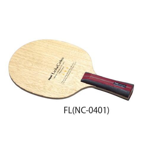 ニッタク Nittaku 卓球ラケット ラティカカーボン 攻撃用シェークハンド NC-0401 FL フレア