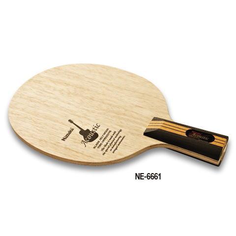 ニッタク Nittaku 卓球ラケット アコースティックC NE-6661 中国式攻撃用ペンホルダー