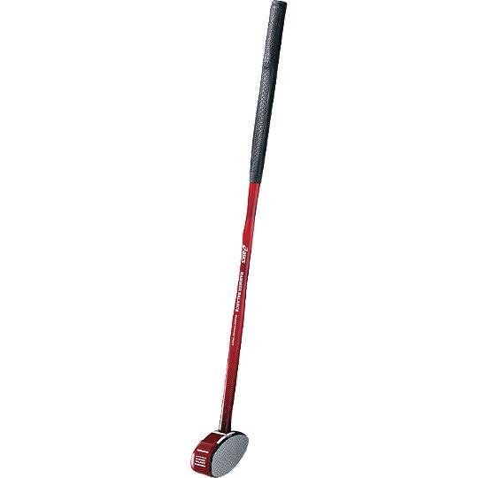 アシックス グラウンドゴルフクラブ ハンマーバランスクラブ 一般右打者専用 GGG184 80cm レッドショート