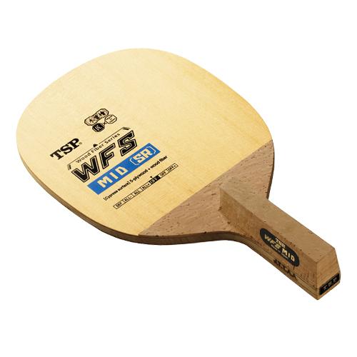 TSP ヤマト卓球ラケット WFS ミッドSR[角丸型] 26592 日本式ペンホルダー