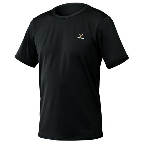 VENEX ベネクス リカバリーウエア リフレッシュTシャツ半袖 メンズ 6705 ブラック