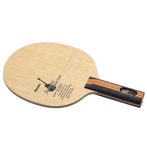 ニッタク Nittaku 卓球ラケット アコースティックカーボンインナー 攻撃用シェークハンド NC-0402 ST