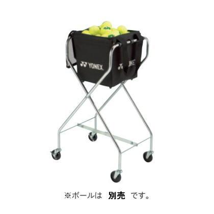 YONEX ヨネックス テニス キャスター付きボールバッグ AC373 ブラック<在庫僅少>