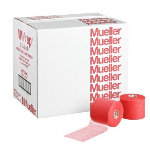 Mueller ミューラー テーピング Mラップ カラー チームパック 48個入り レッド 70mm 130704[T]