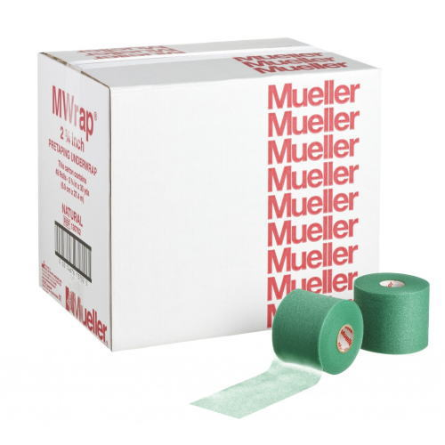 Mueller ミューラー テーピング Mラップ カラー チームパック 48個入り グリーン 70mm 130705[T]
