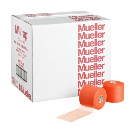 Mueller ミューラー テーピング Mラップ カラー チームパック 48個入り オレンジ 70mm 130709[T]