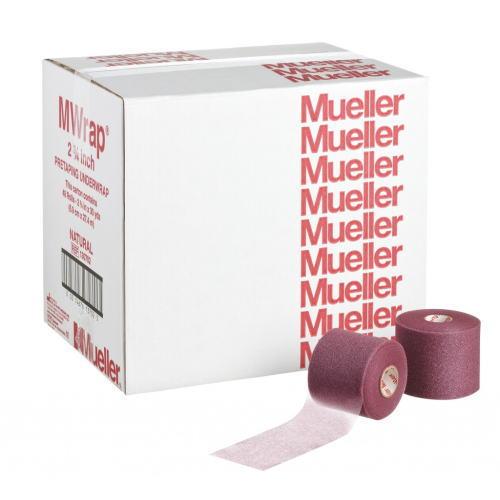 Mueller ミューラー テーピング Mラップ カラー チームパック 48個入り マルーン 70mm 130713[T]