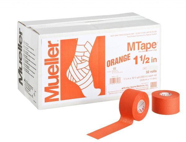 Mueller ミューラー テーピング Mテープチームカラー オレンジ 38mm 32個入り 130825[T]