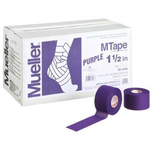 Mueller ミューラー テーピング Mテープチームカラー パープル 38mm 32個入り 130826[T]