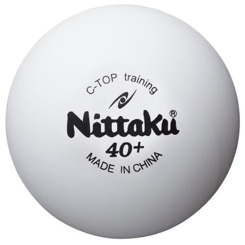 ニッタク Nittaku 卓球ボール Cトップトレ球 硬式40mm 50ダース[600個入] NB-1467 ホワイト