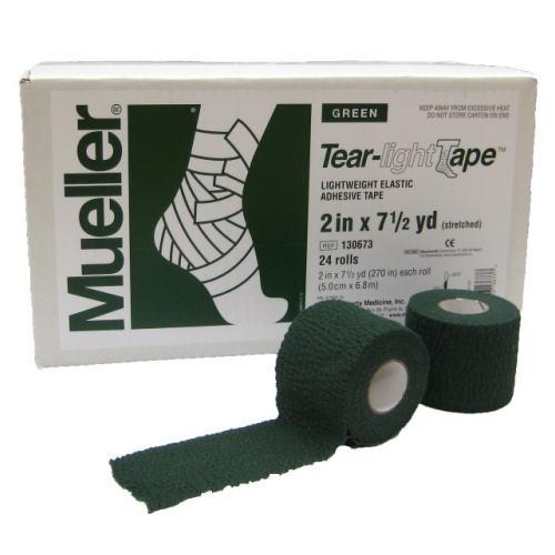 Mueller ミューラー テーピング ティアライトテープ 50mm グリーン 130683 24個入り[T]
