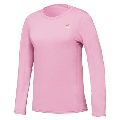 VENEX ベネクス リカバリーウエア スタンダードドライ ロングスリーブ Tシャツ レディース 6530 ピンク