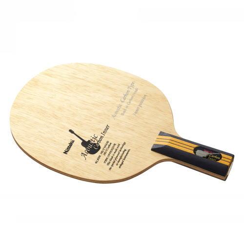 供Nittaku nittaku乒乓球球拍音响的碳界内C NC-0192中国式攻击使用的直握拍