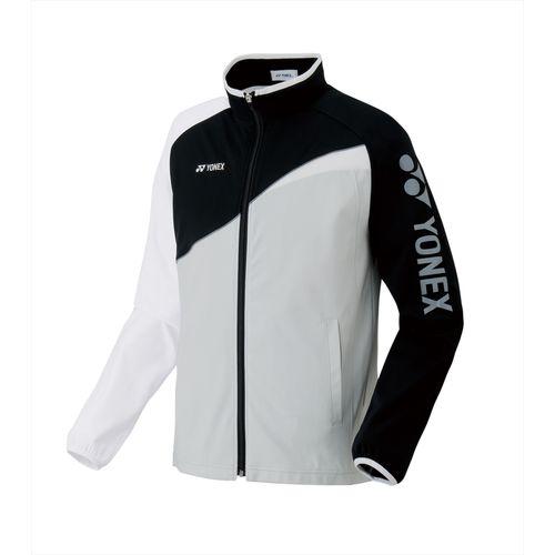 YONEX ヨネックス バドミントン 長袖 ユニニットウォームアップシャツ 52012 ブラック/ホワイト