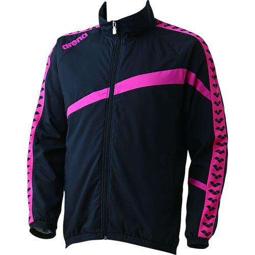 arena アリーナ スイミング 水泳 ウィンドジャケット ARN-6300 ブラック/ピンク