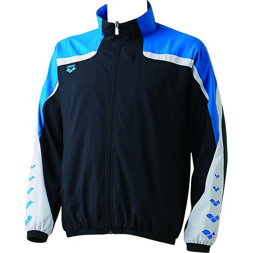 arena アリーナ スイミング 水泳 ウィンドジャケット ARN-6310 ブラック/ブルー
