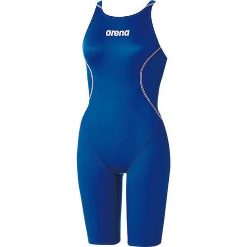 arena アリーナ スイミング 水泳 水着 ハーフスパッツ クロスバック ARN-7020W レディース Dブルー