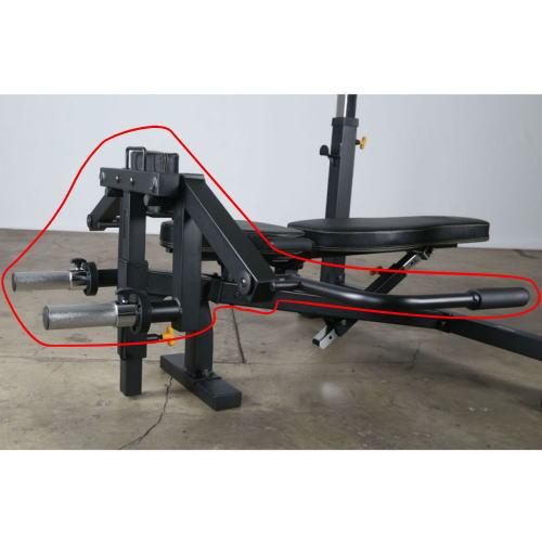 【送料無料対象外】パワーテック ペックフライアクセサリー WB-PFA16 筋トレ・ウエイトトレーニングマシン