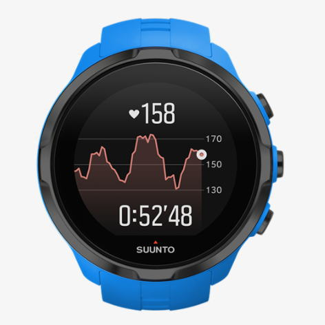 SUUNTO スント GPSスポーツアウトドアウォッチ心拍計 SPARTAN SPORT WRIST HR Blue SS022663000<店頭在庫限り>