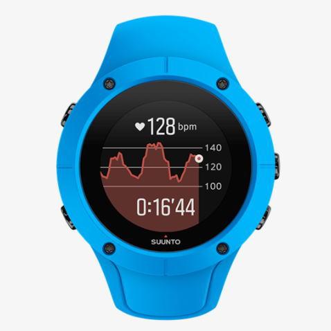 SUUNTO スント GPSスポーツアウトドアウォッチ心拍計 SPARTAN TRAINER WRIST HR Blue SS023002000 <店頭在庫限り>