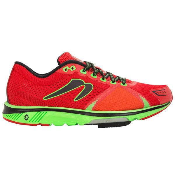 NEWTON ニュートン ランニングシューズ メンズ グラビタス Mens Gravitas 7 M000118 Red/Lime<店頭在庫限り>