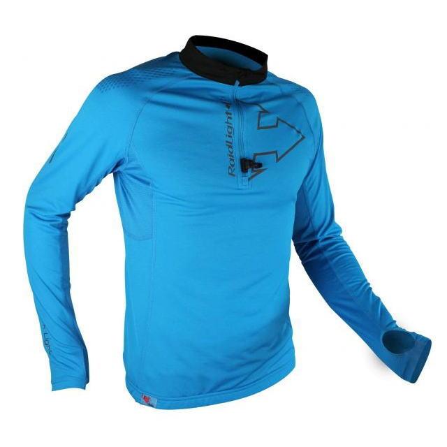 RaidLight レイドライト Performer TOP LS 長袖ハーフジップシャツ RV744M172 メンズ ブルー