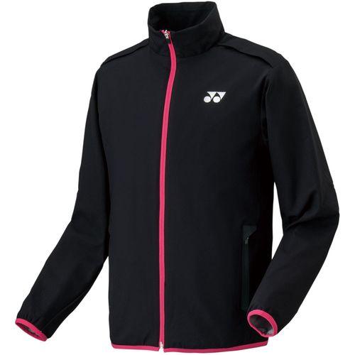YONEX ヨネックス バドミントン UNI 裏地付ウインドウォーマーシャツ ジャケット 70054 007 ブラック