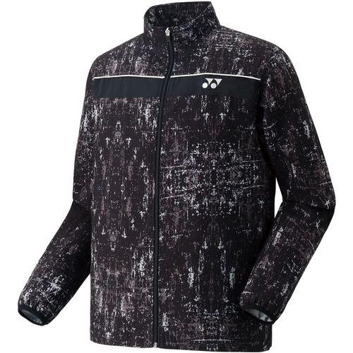 YONEX ヨネックス バドミントン UNI 裏地付ウインドウォーマーシャツ ジャケット 70056 007 ブラック