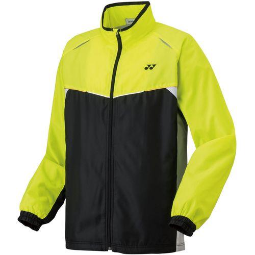 YONEX ヨネックス バドミントン UNI 裏地付ウインドウォーマーシャツ ジャケット 70058 ブラック/Aイエロー